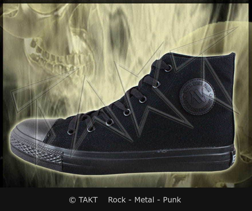Trampky ALL BLACK New Age 2 r.36-50 černé