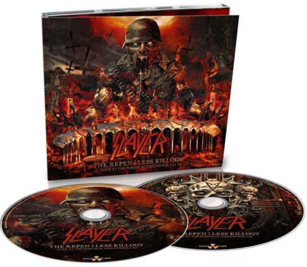 2 CD Slayer - the Repentless Killogy 2019