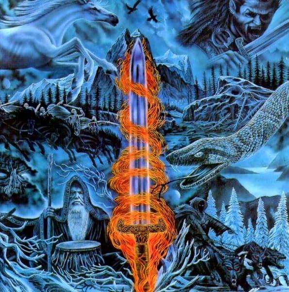 CD Bathory - blood On Ice