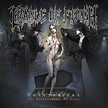 CD Cradle Of Filth - cryptoriana. The Seductiveness Of Decay - 2017