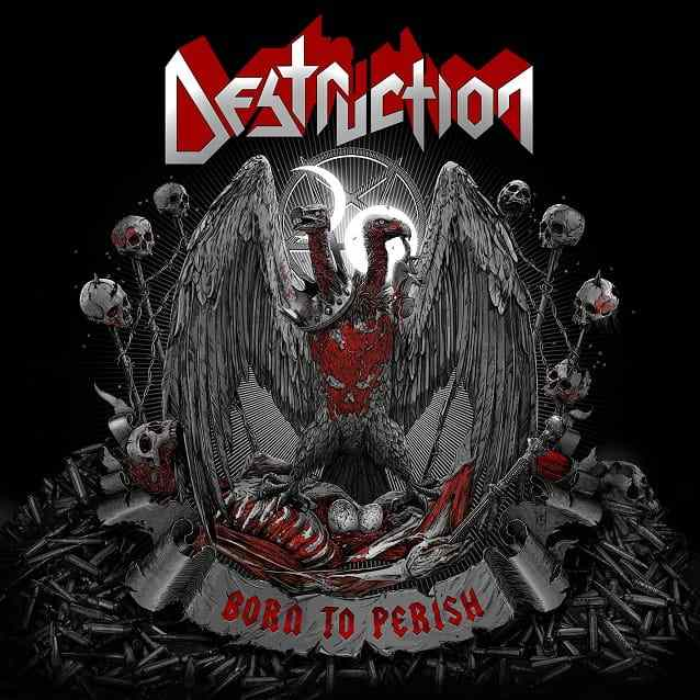CD Destruction - born To Perish 2019