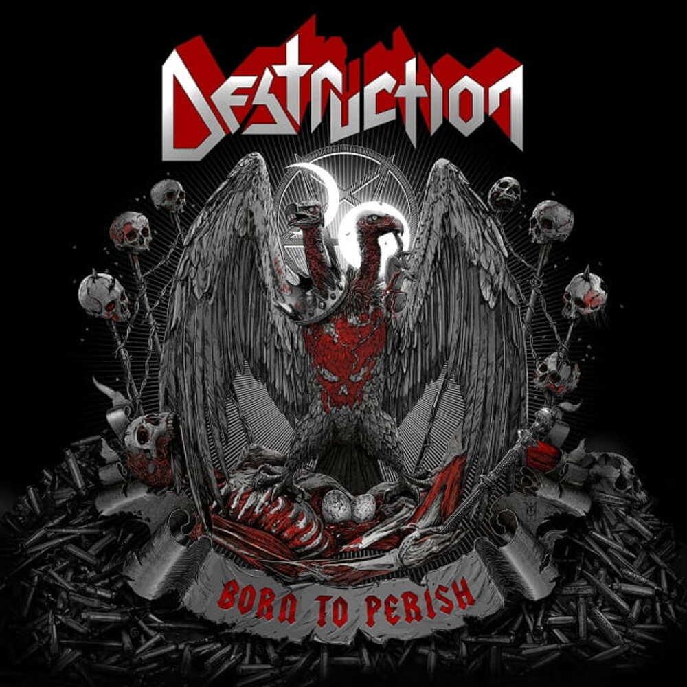 CD Destruction - born To Perish 2019