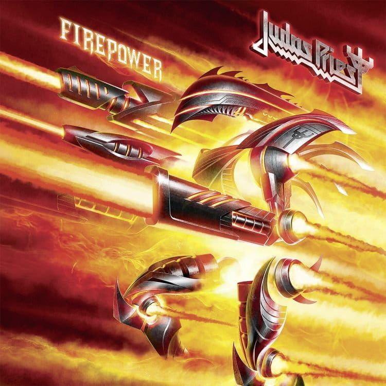 CD Judas Priest - firepower - 2018