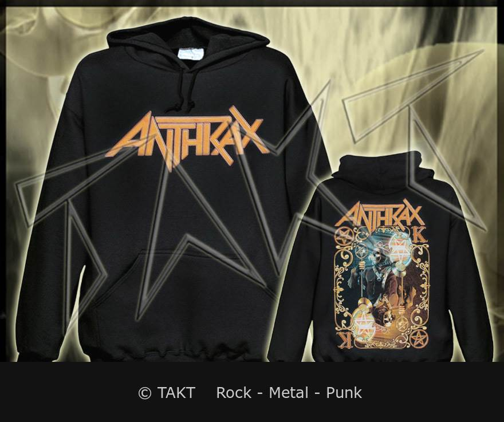 Mikina klokan Anthrax - evil Twin Imp.