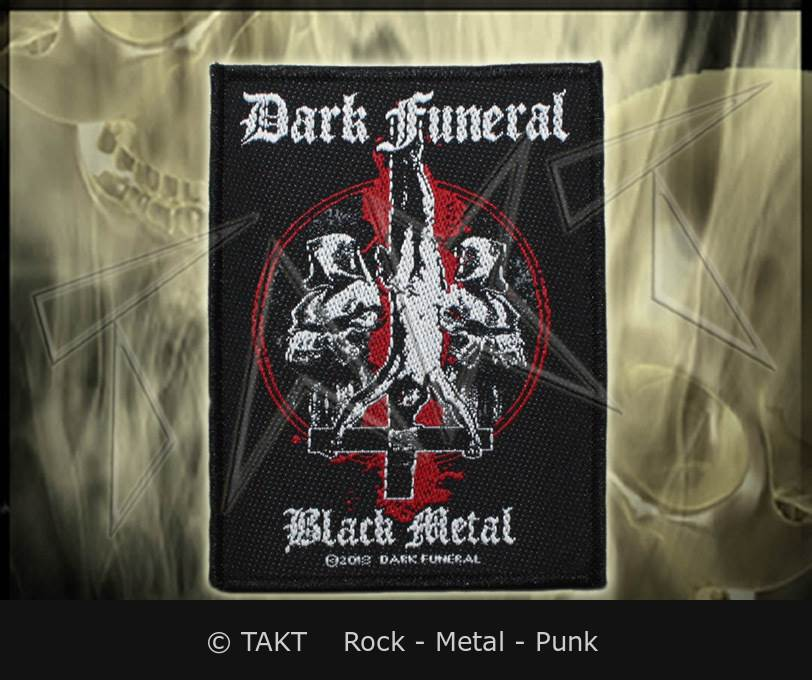 Nášivka Dark Funeral - black Metal