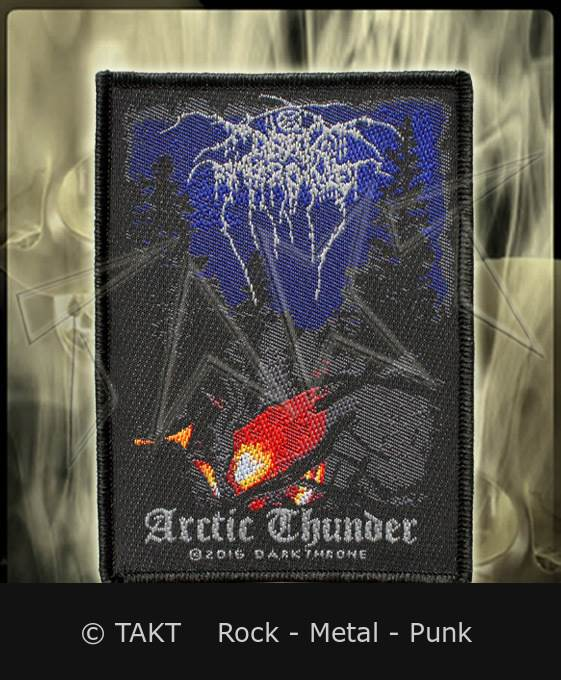 Nášivka Dark Throne - arctic Thunder
