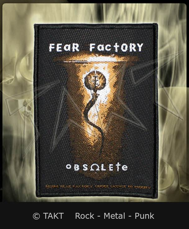 Nášivka Fear Factory - obsolete