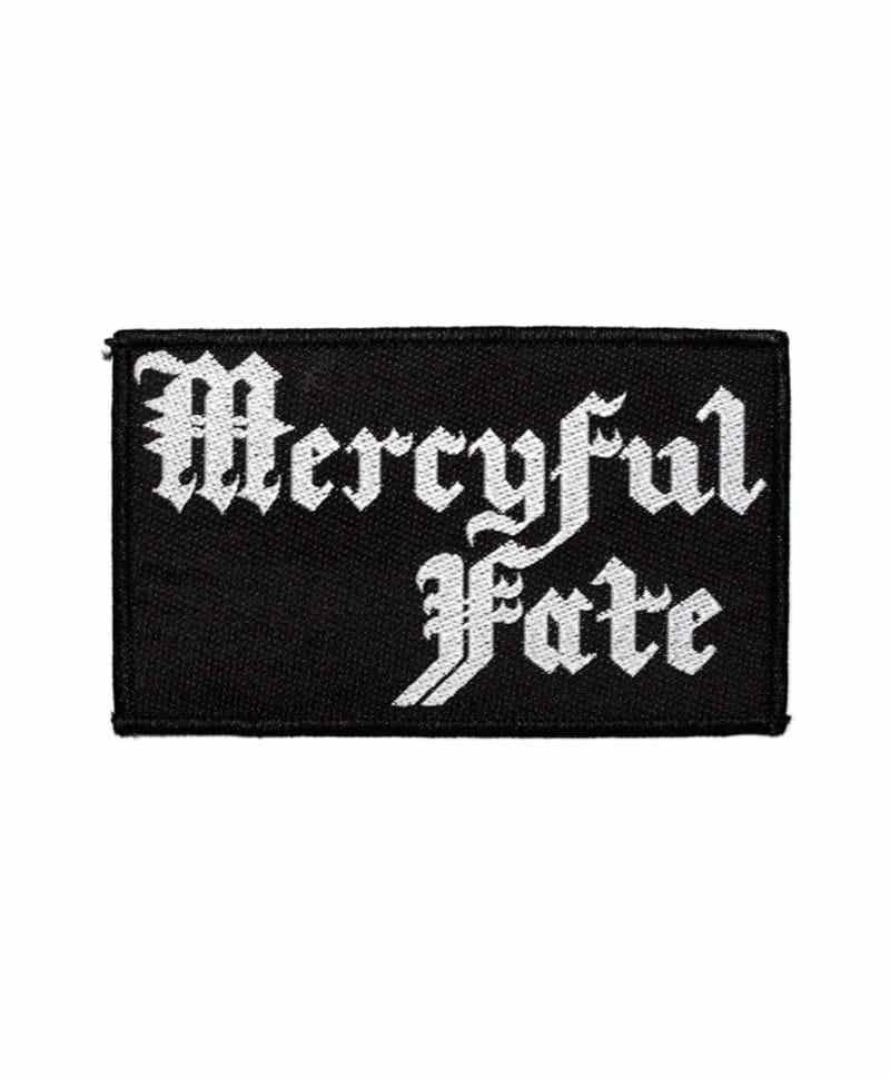 Nášivka Mercyful Fate - logo White
