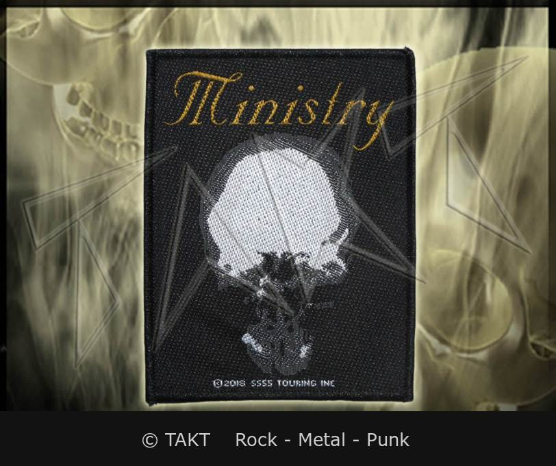 Nášivka Ministry - the Mind Is A Terrible Thing To Taste