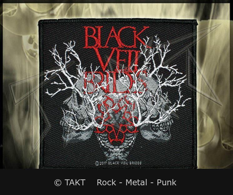 Nášivka Black Veil Brides - skulls Branches
