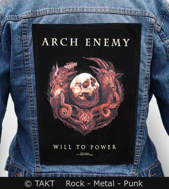 Nášivka na bundu Arch Enemy - will To Power