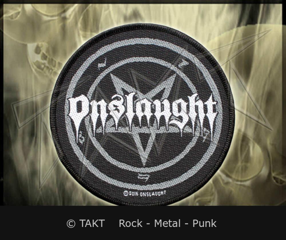 Nášivka Onslaught - pentagram
