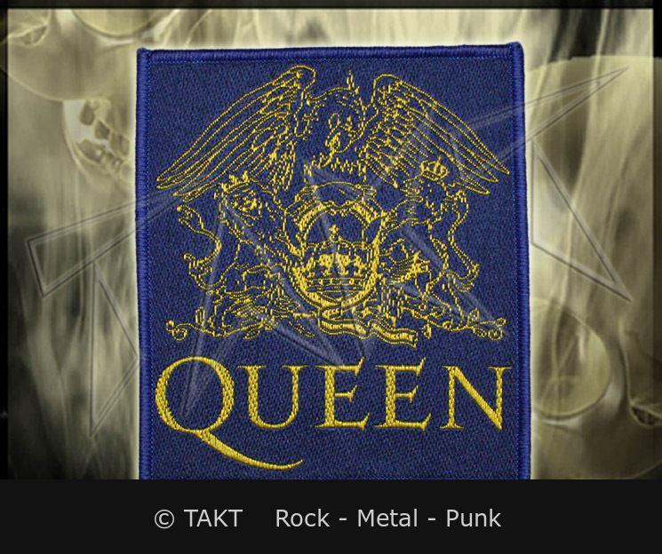 Nášivka Queen - crest Blue