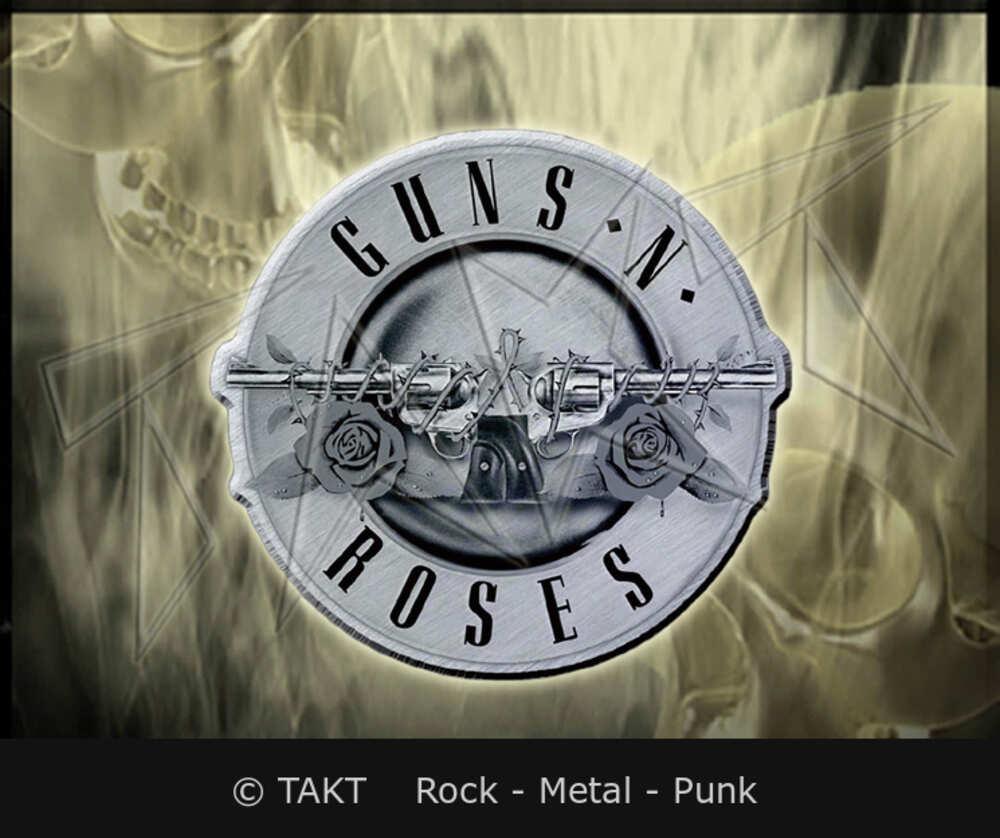Odznak Guns N Roses - bullet Logo
