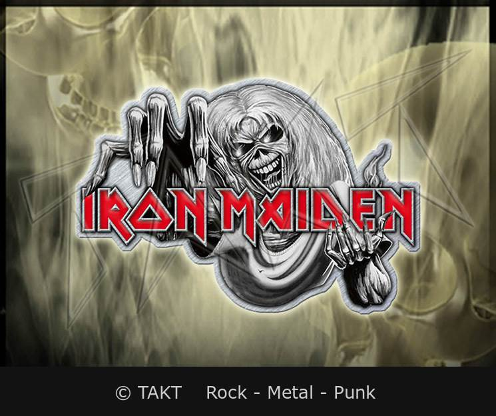 Odznak Iron Maiden - number Of The Beast