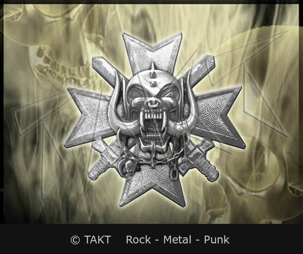 Odznak Motorhead - bad Magic