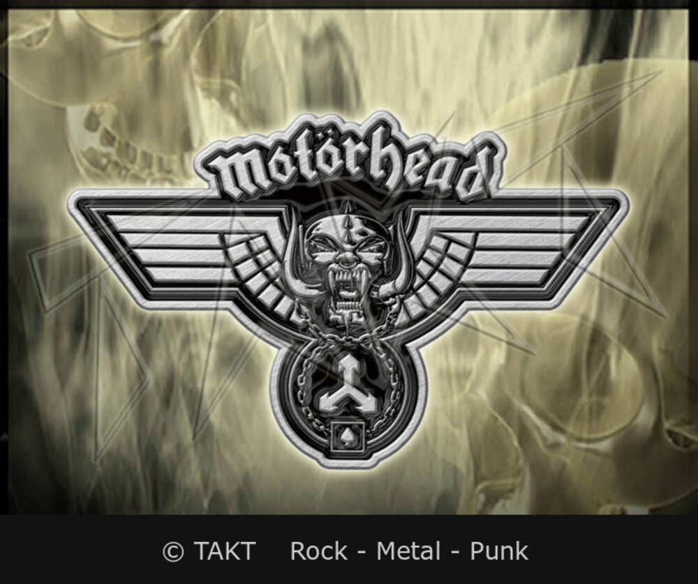 Odznak Motorhead - hammered