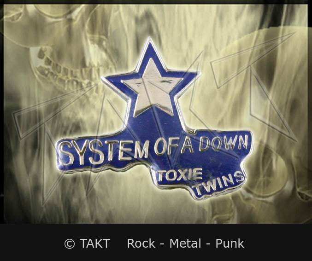 24230ddb8f0 Odznak System Of A Down