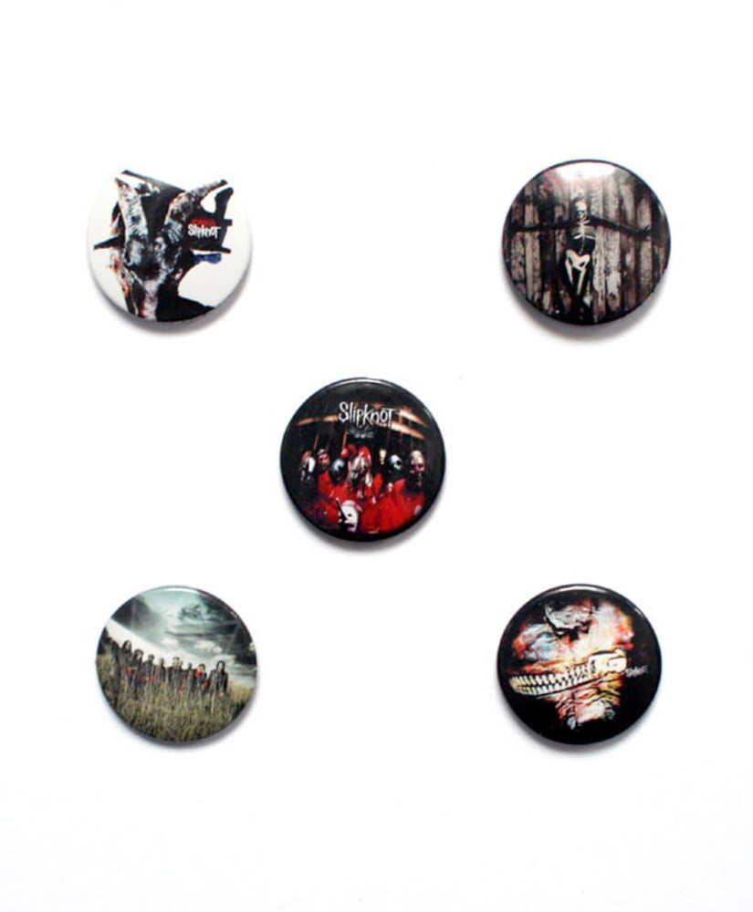 Placka Slipknot - albums Kpl. 5 Ks