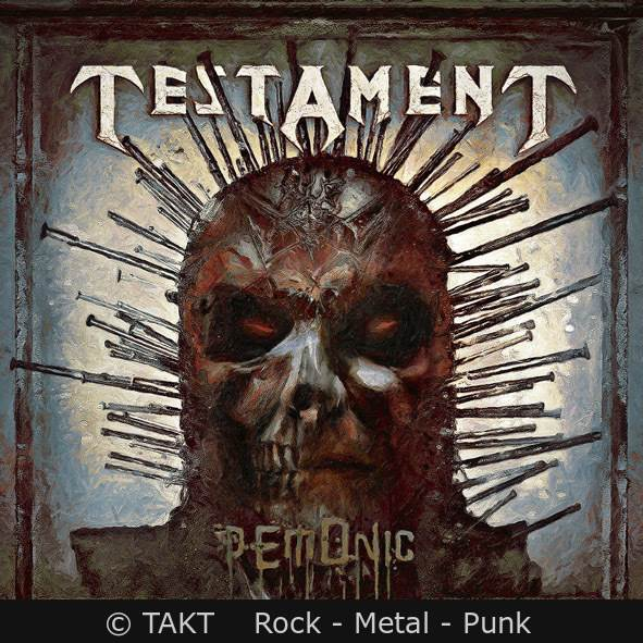 Plyta Cd Testament - demonic Digipack - 2018