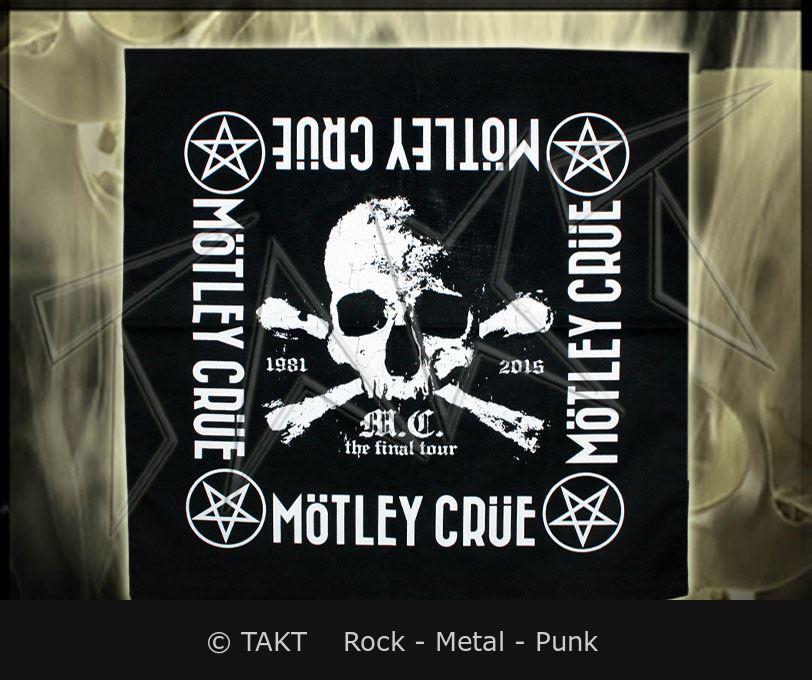 Šátek Motley Crue - the Final Tour