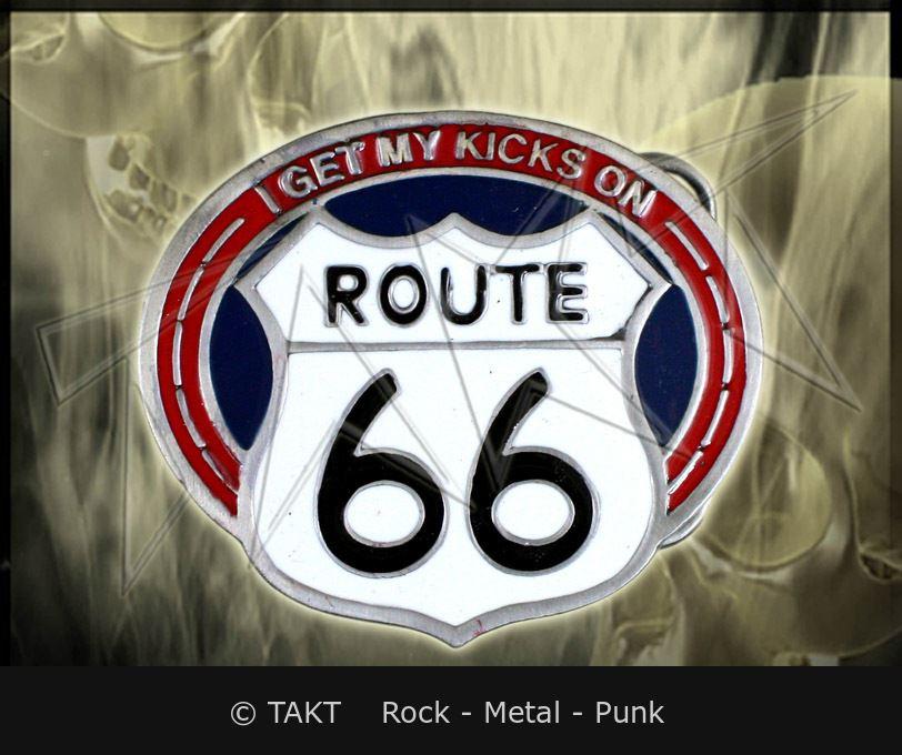 Spona na opasek Route 66