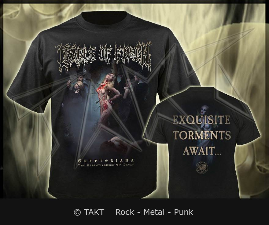 Tričko Cradle Of Filth - exquisite Torments Await.  .  .  - Imp.