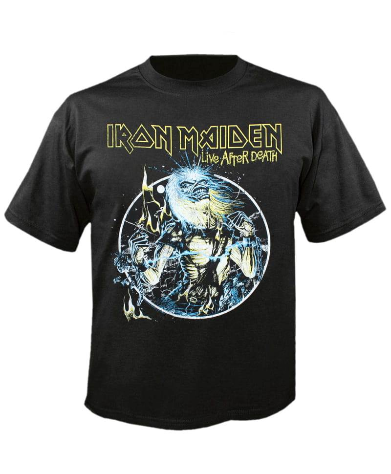 Tričko Iron Maiden - live After Death 2 Imp.