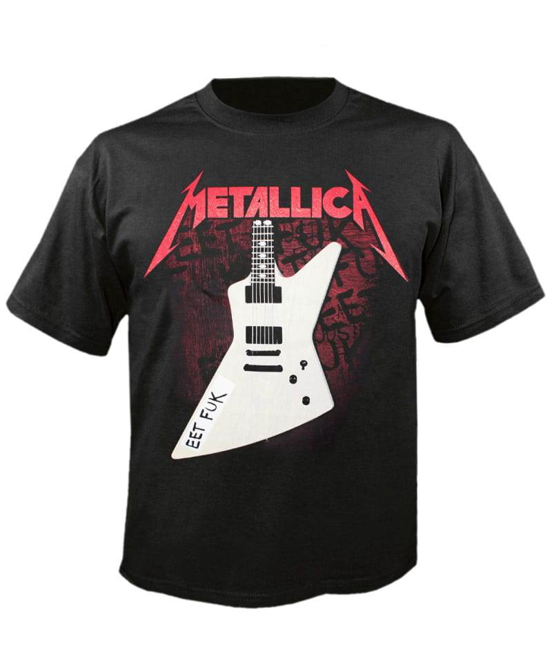 5e8a4ffae552 Tričko Metallica - james Hetfield Guitar 3 Eet Fuk Imp.