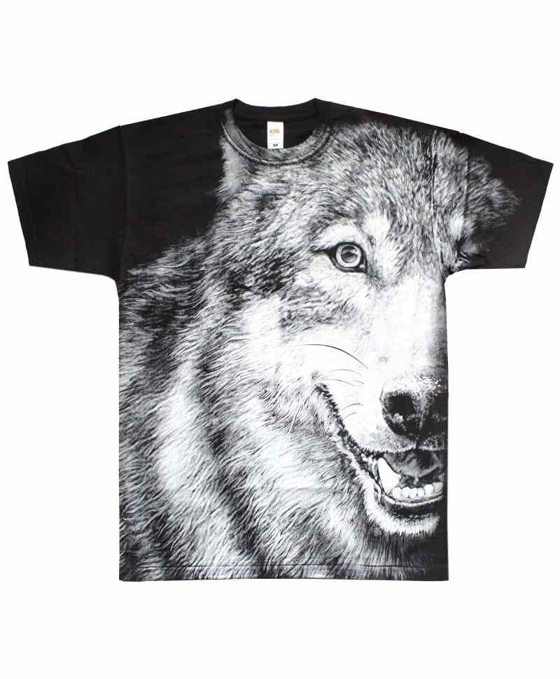 Tričko Wolf 07 Side All Print