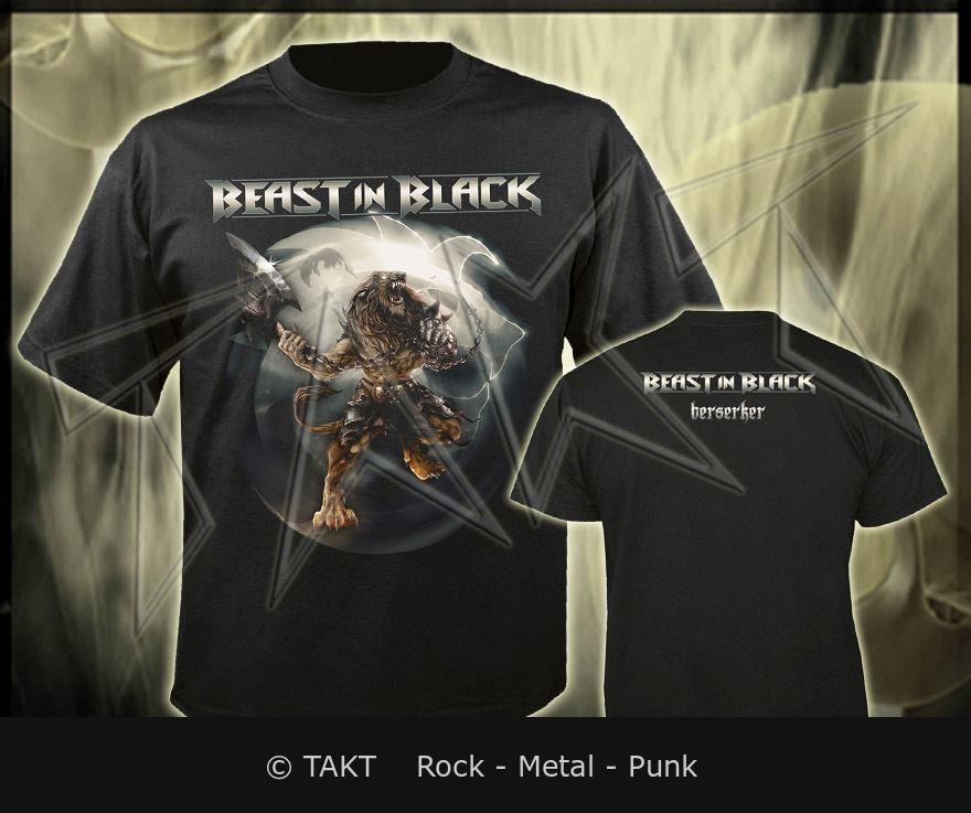Tričko Beast In Black - berserker Imp.