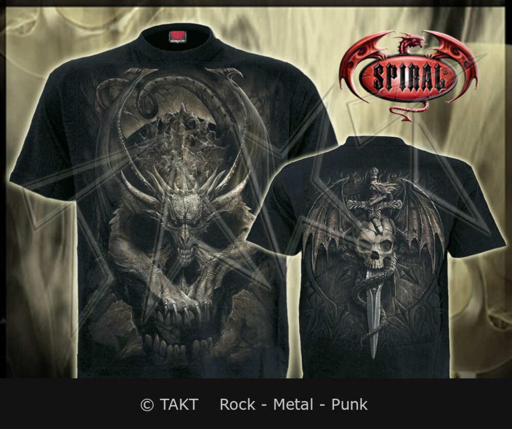 Tričko Draco Skull Imp.