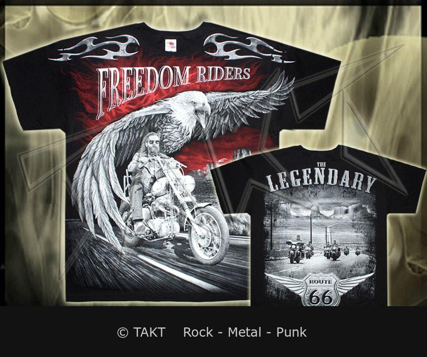 Tričko Freedom Riders All Print