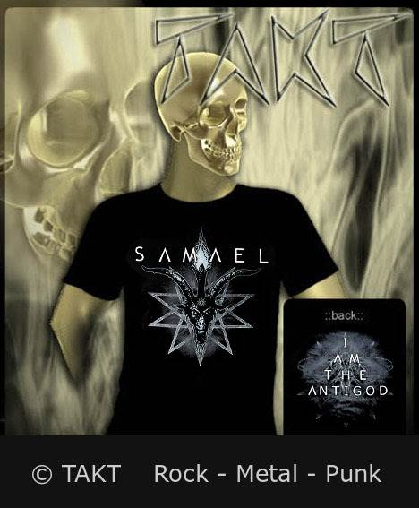 Tričko Samael - I Am The Antigod Imp.