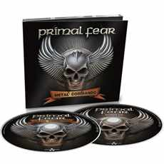 2 CD Primal Fear - Metal Commando 2020 Limited Edition