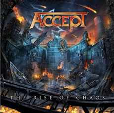 CD Accept - the Rise Of Chaos - 2017