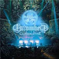CD Entombed - clandestine Live 2019
