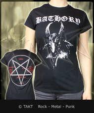Dámské tričko Bathory - goat Imp.