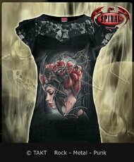 Dámské tričko Queen Of The Night Lace Layered Imp.
