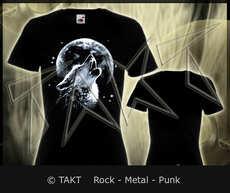 Dámské tričko Wolf 2 Moon