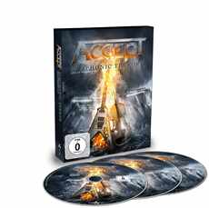 DVD + 2CD Accept - symphonic Terror 2018 Limited Edition