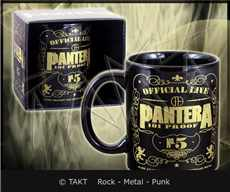 Hrnek Pantera - 101 Proof Black