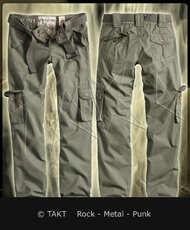 Kalhoty bojové dámské Premium slimmy olivové /  zelené Imp.