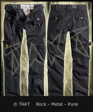 Kalhoty vojenské dámské Premium Black Imp.