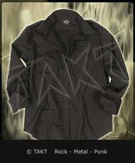 Košile s nárameníky Black/ Černá dlouhý rukáv ripstop Imp.
