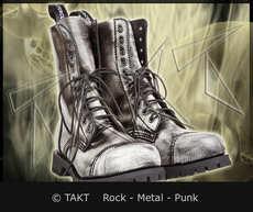Kožené boty 10 dírkové Alter Core 551 bílo/ černé