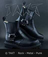 Kožené boty na Motorku Steadys