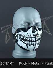 Maska na Motorku Lebka Malá
