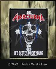Nášivka Airbourne - it s Better To Die Young