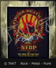 Nášivka Five Finger Death Punch - The Way Of The Fist